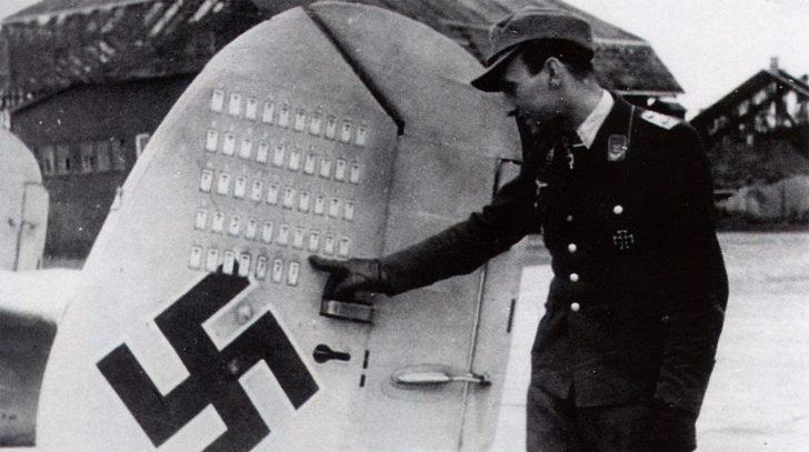Oberleutnant Schnaufer, Messerschmitt Bf-110G