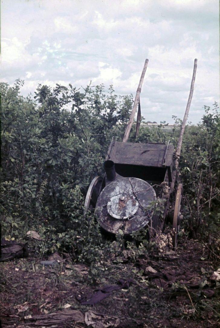 Soviet field kitchen
