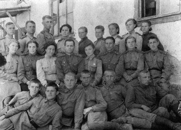 Komsomol active of Saratov