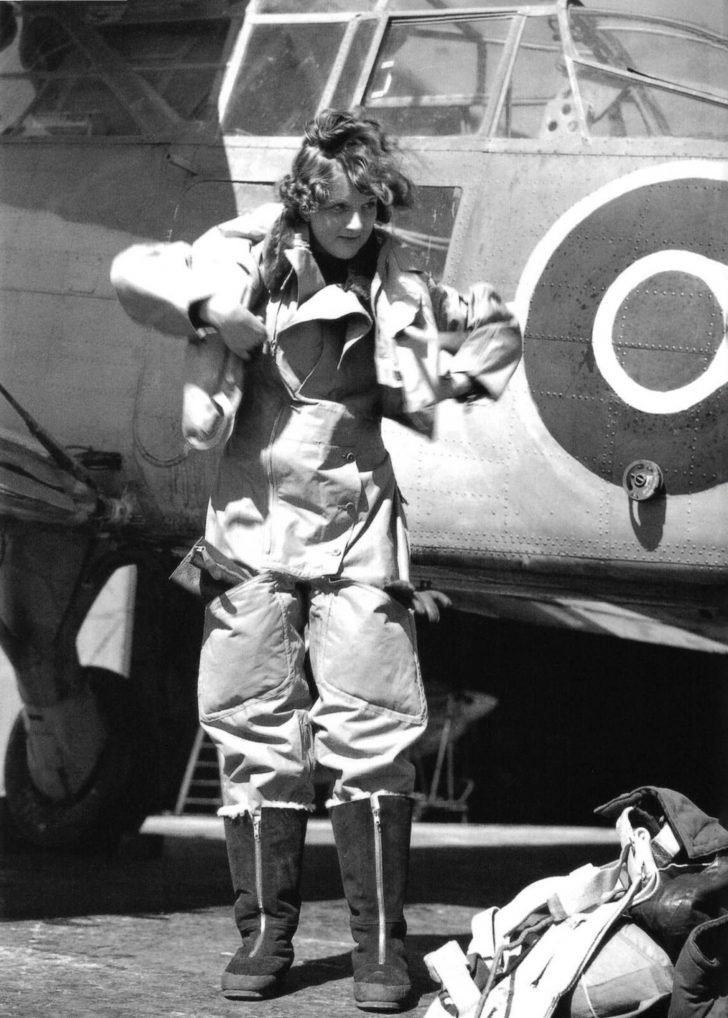 pilot of the Women's Royal Naval Service