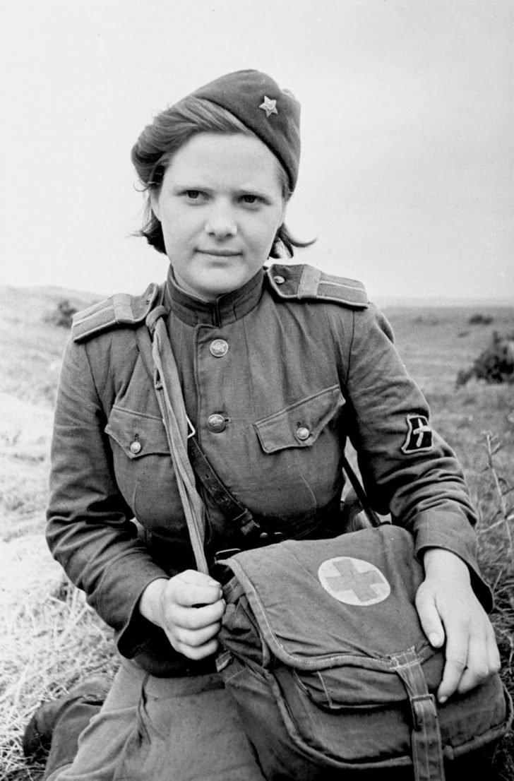 Medical instructor Sokolova