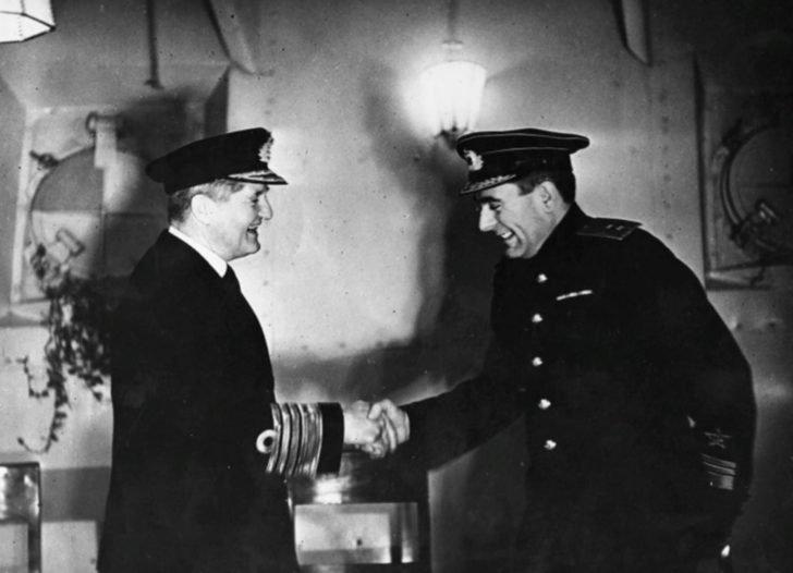 Admiral Bruce Fraser, Vice Admiral A. Golovko