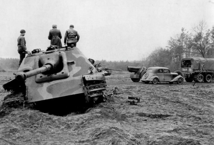 Jagdpanther self-propelled gun