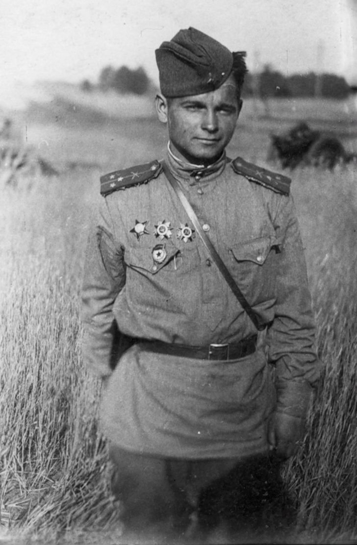 Lieutenant Mikhail Alexandrovich Shutyy