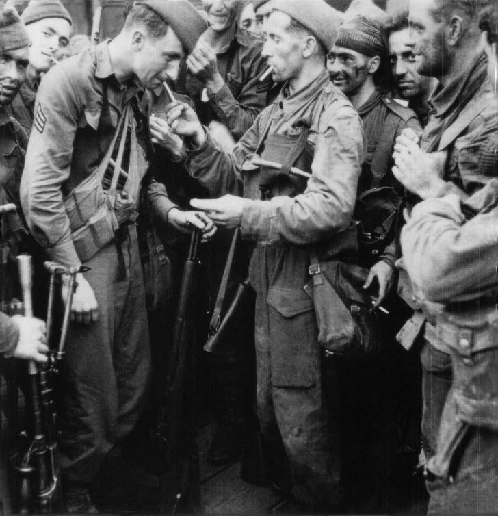 British commandos, American rangers