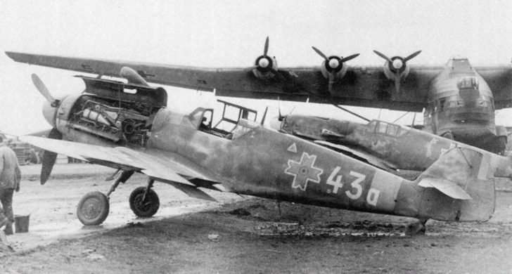 Messerschimitt Bf.109G-6, Me.323 transport aircraft