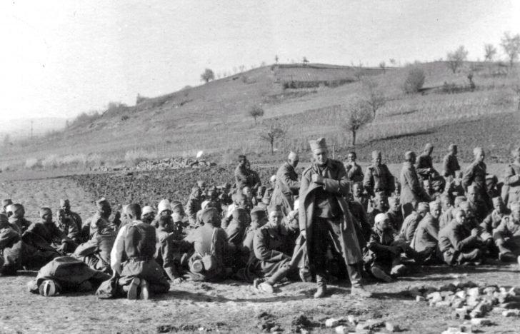 Captured Yugoslav soldiers