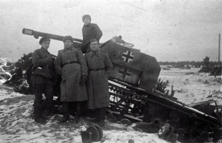 249th division, self-propelled gun