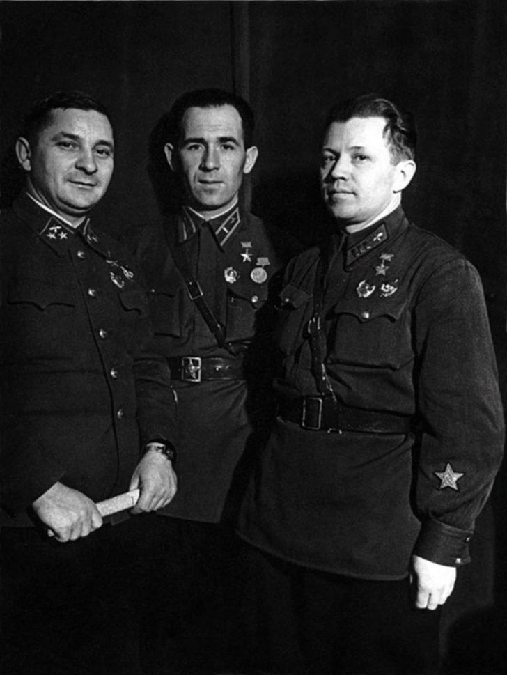 Ivan Pyatykhin, Alexander Letuchiy, Alexander Kostylev