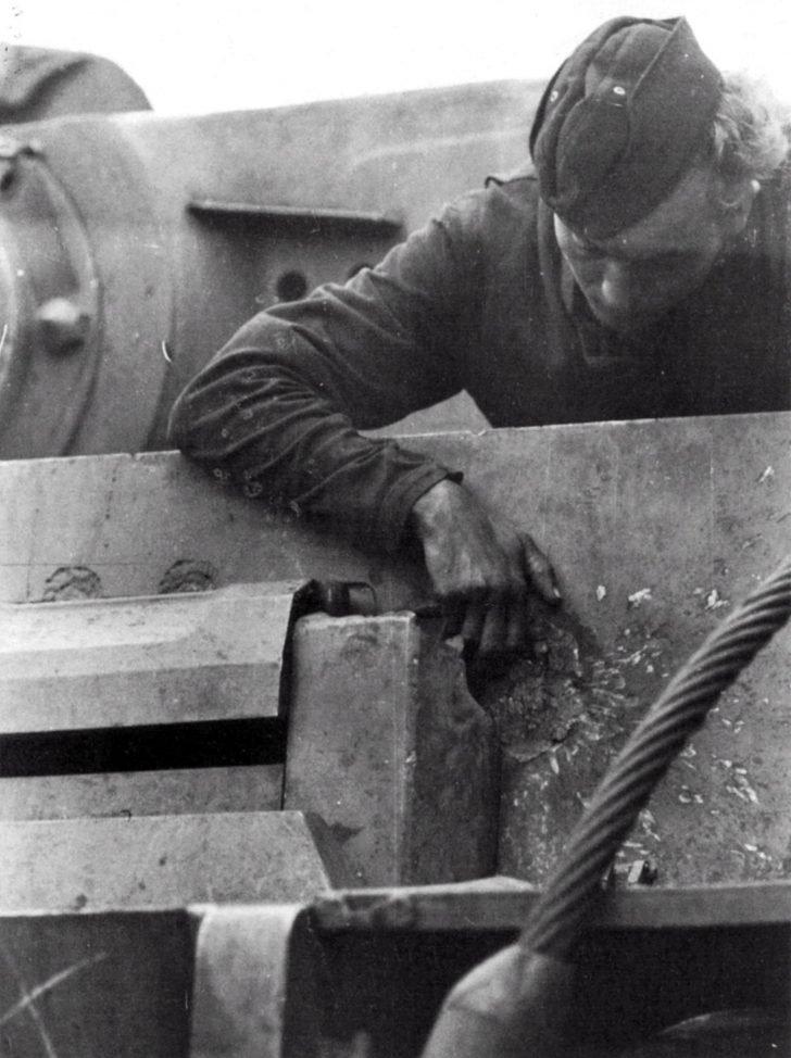 German tankman, Tiger I