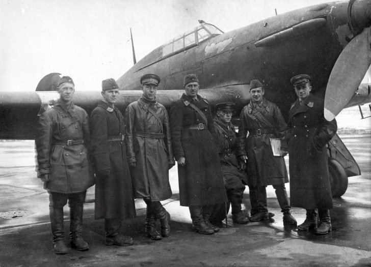 Soviet Hurricane Fighter Test Team