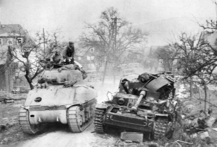 M4 Sherman, Pz.Kpfw. IV tank