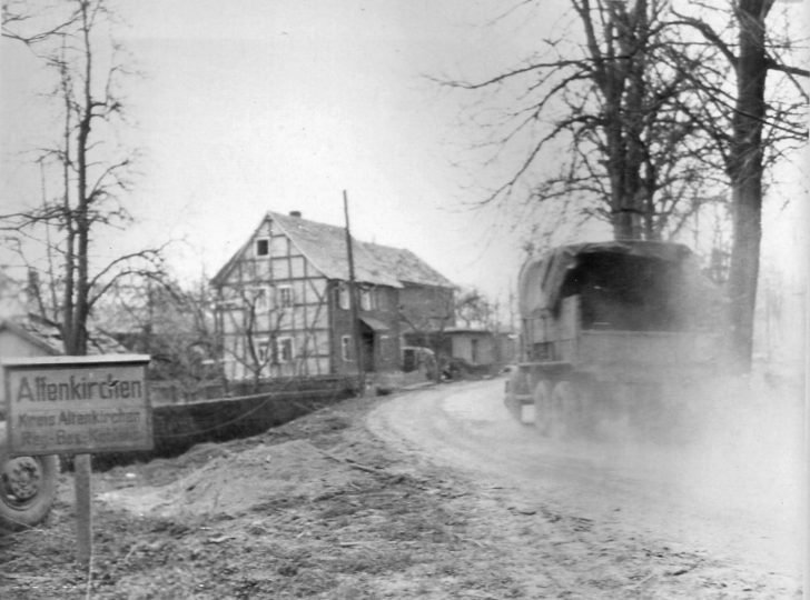 US 1st Army truck