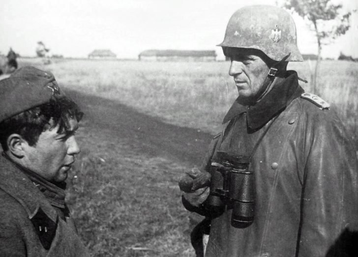 Ober-Lieutenant of the Wehrmacht, Soviet lieutenant