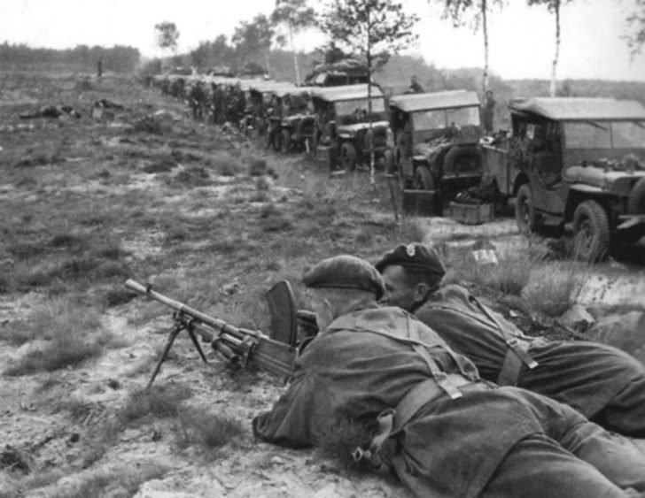 British soldiers on Hell's Highway