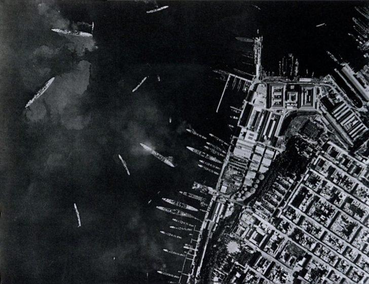 The harbor of Taranto