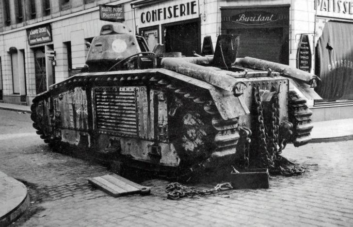 B1 tank
