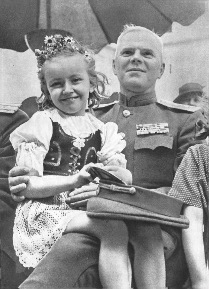 Czech girl, general of the Red Army
