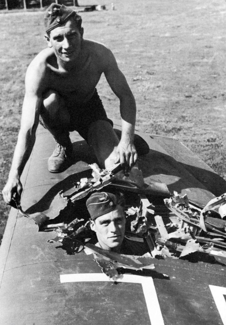 Ju-87 dive bomber