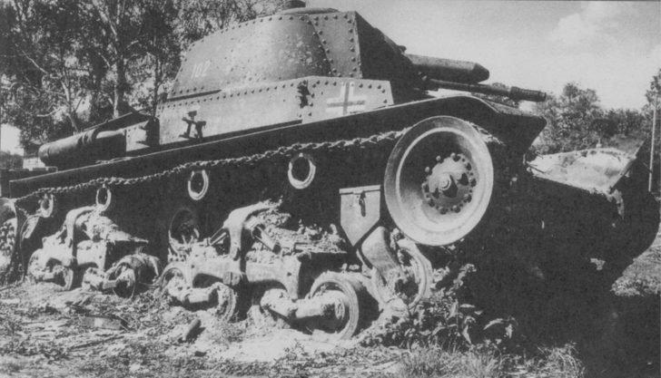 Pz. 35(t) light tank