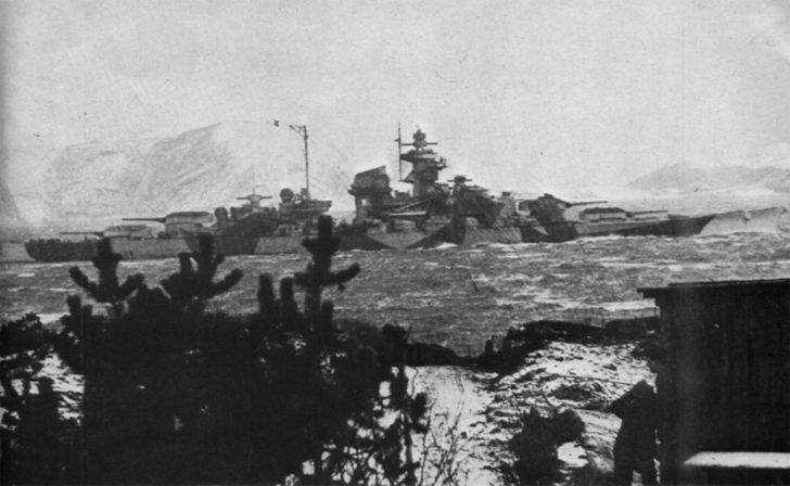 Tirpitz battleship