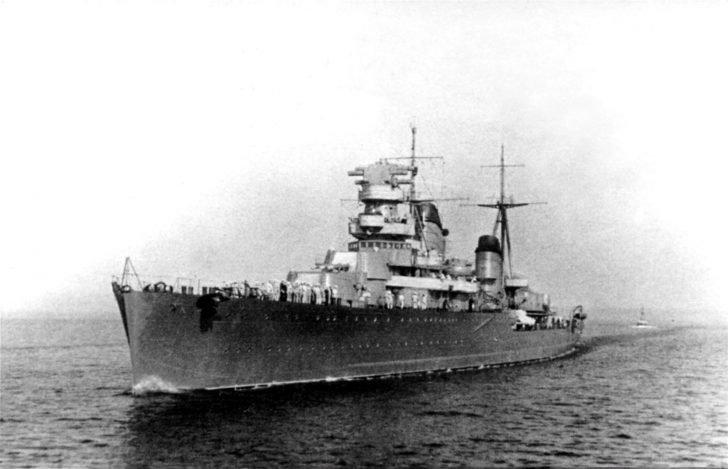 Maxim Gorky light cruiser