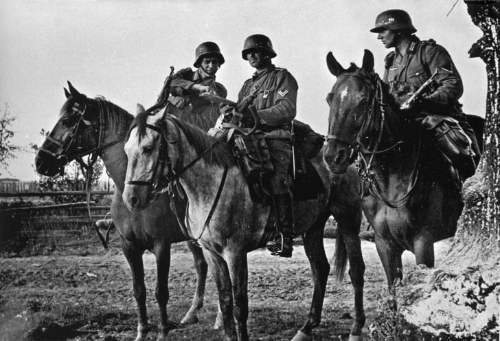 1st cavalry division of the Wehrmacht