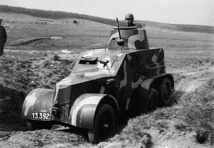 OA vz.30 armored car