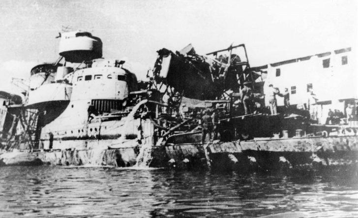 Tashkent destroyer leader