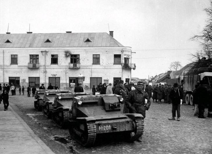 Hungarian tankettes