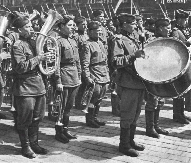 Soviet military band