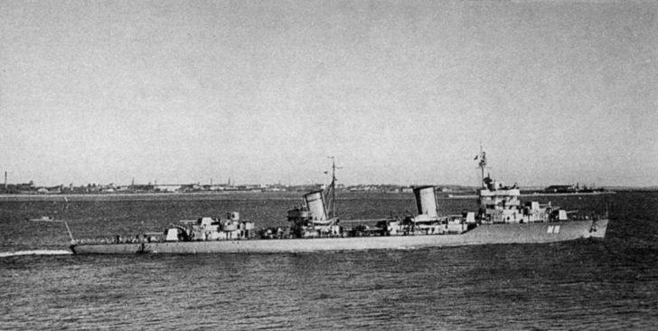 Minsk leader of the destroyers
