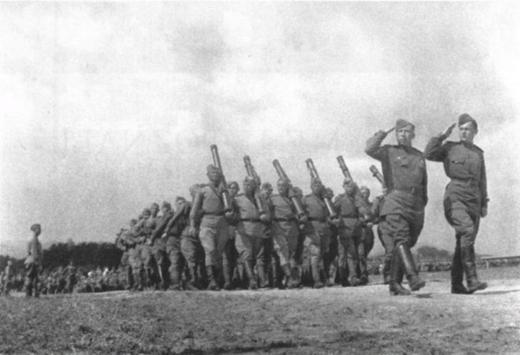 Soviet troops in Czechoslovakia