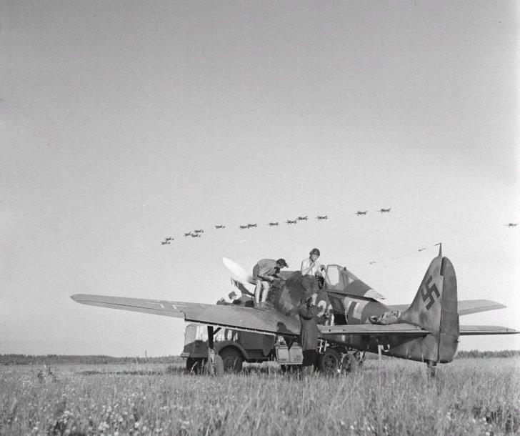 Fw.190 fighter
