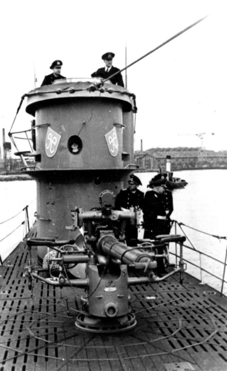 U-758 submarine