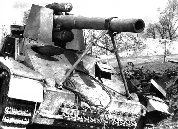 Hummel self-propelled gun