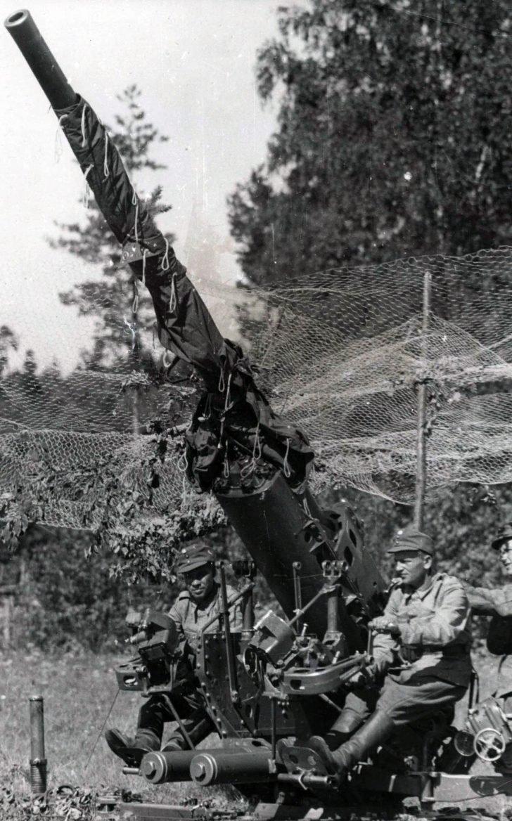 M/34 Vickers anti-aircraft gun