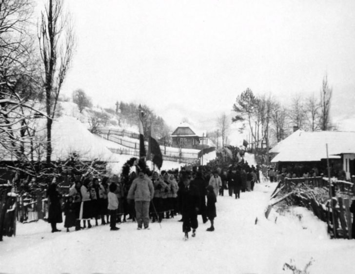 The funeral of Czech soldiers