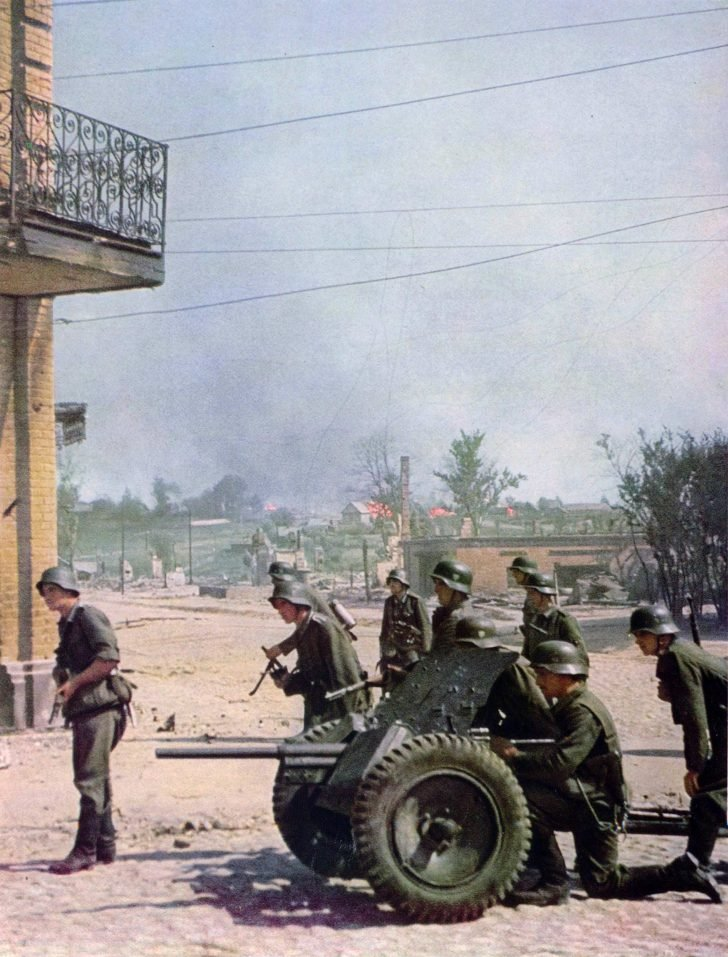 German soldiers, PaK 35/36