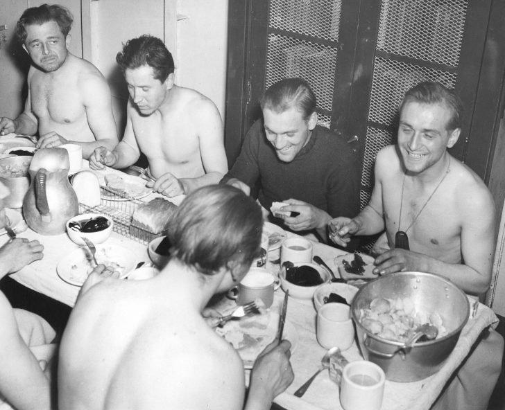 sailors from the U-175 submarine