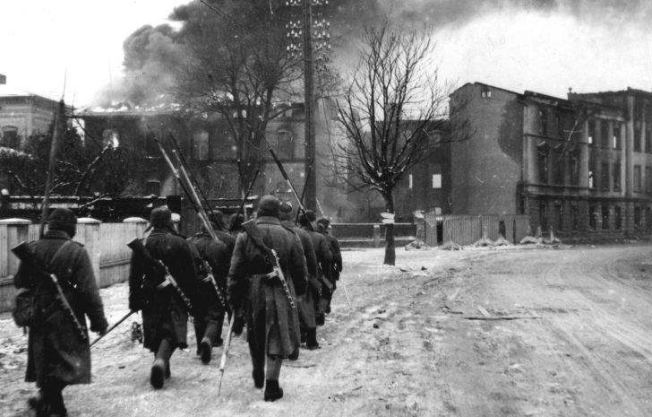 Soviet sappers in East Prussia