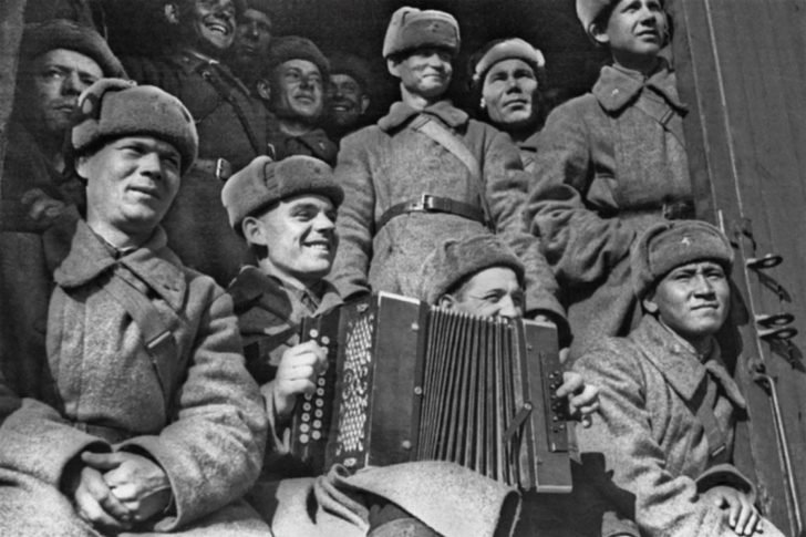 Siberian soldiers