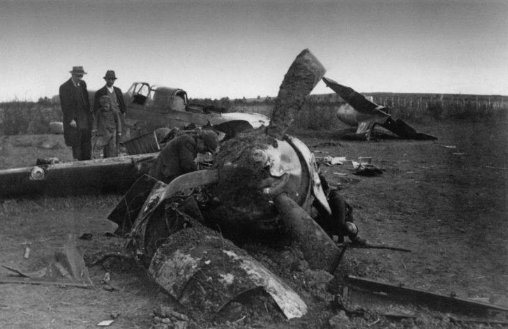 Yugoslav civilians, Il-2 attack aircraft