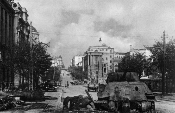 Destroyed T-34