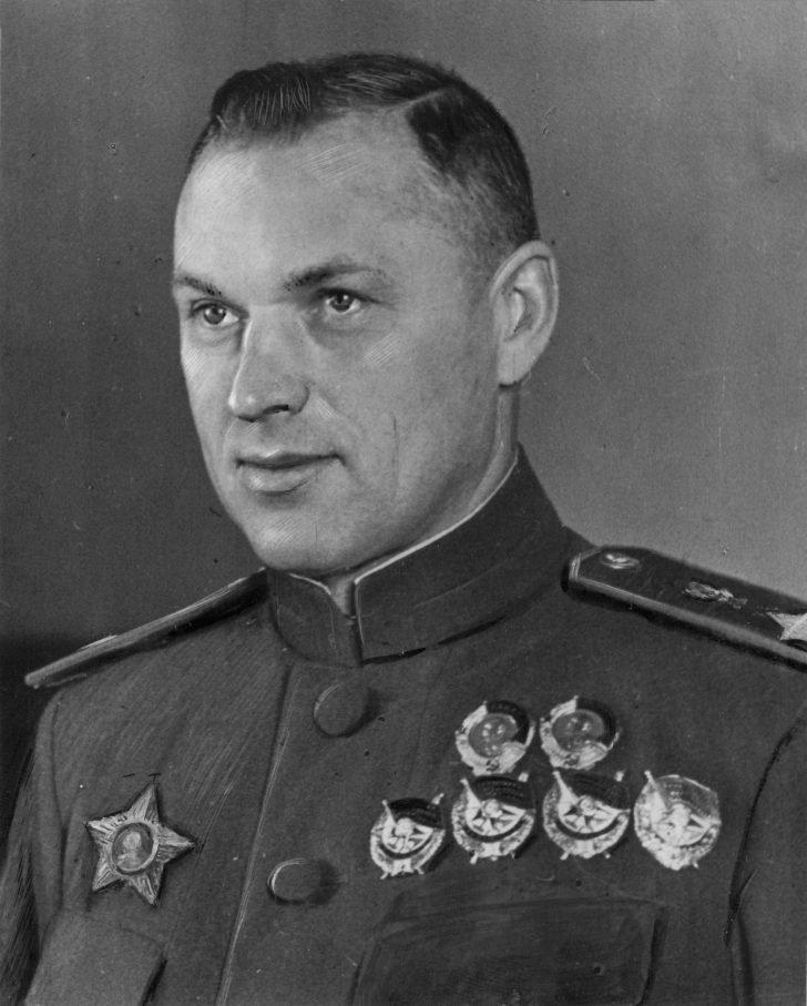 Marshal Konstantin Rokossovsky