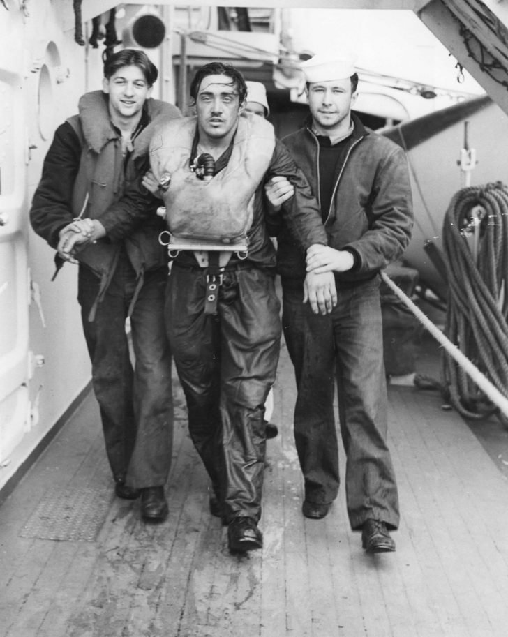 Otto Herzke sailor from U-175 submarine