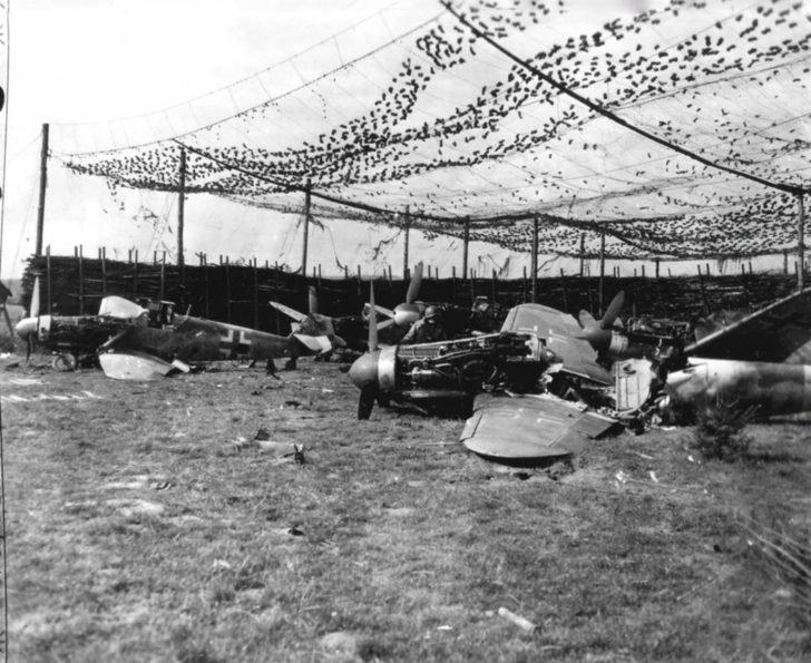 Messerschmitt Bf.109 fighters
