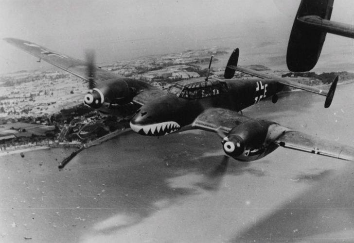 Messerschmitt Bf.110 fighter