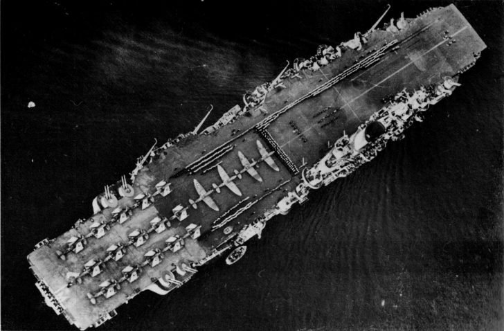 Implacable aircraft carrier