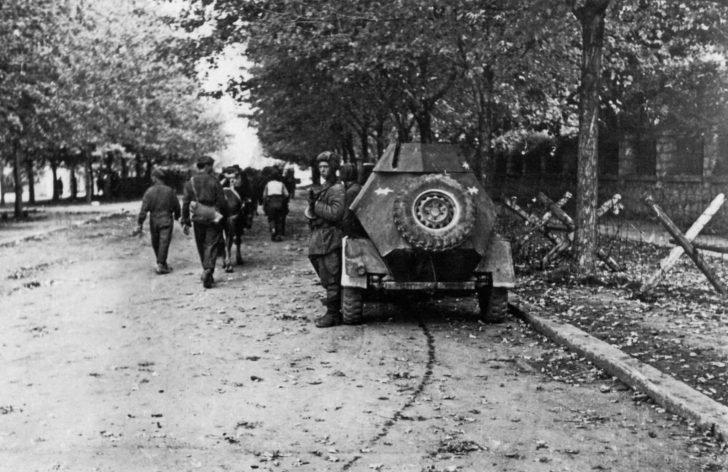 People's Liberation Army of Yugoslavia, BA-64 armored car